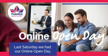 The longest Online Open Day