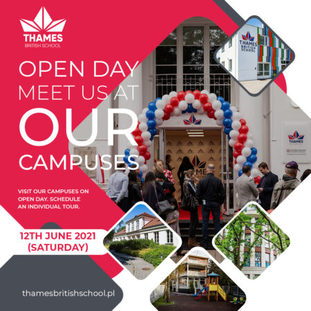 Open Day on the 12th June (Saturday)