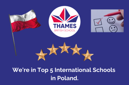 Top 5 International Schools in Poland, based on a Parent Satisfaction with Online Education survey