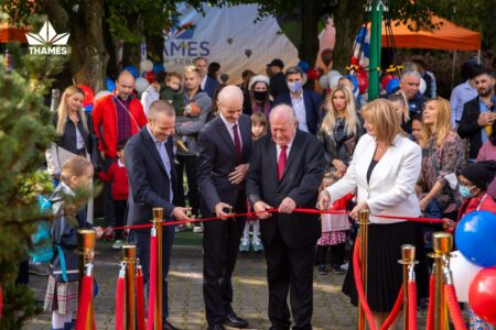 Opening Ceremony in our new Mokotów campus.